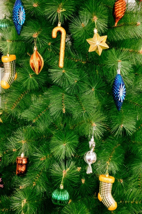 Close-Up Photo of Christmas Tree With Ornaments