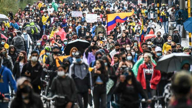AOC Joins U.S. Lawmakers Condemning Colombian Government's 'Human Rights Abuses' During Protests
