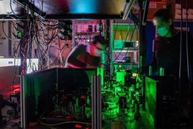 Multi-Node Quantum Network on the Horizon