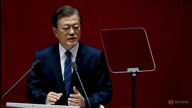South Korea President Moon vows to raise fiscal spending to create jobs