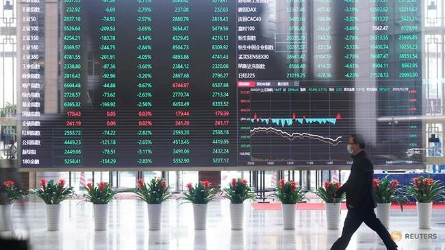 China healthcare shares surge after COVID-19 vaccine patent waiver plan meets EU resistance
