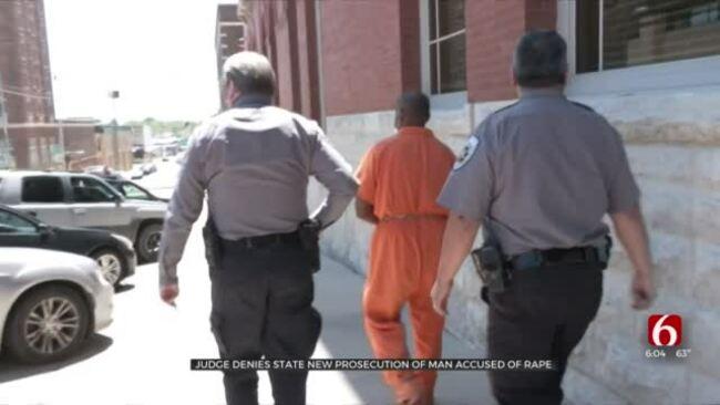 Judge Denies State New Prosecution Of Accused Serial Rapist