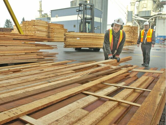 Long a boring commodity, B.C. lumber prices soar to stratospheric highs