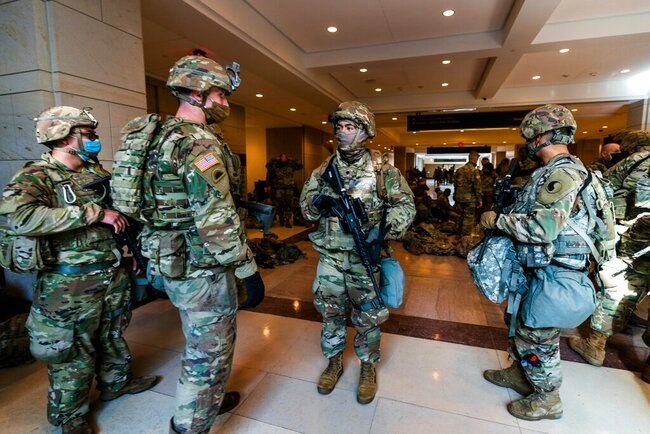 Gov. Newsom calls up California National Guard in preparation for presidential inauguration
