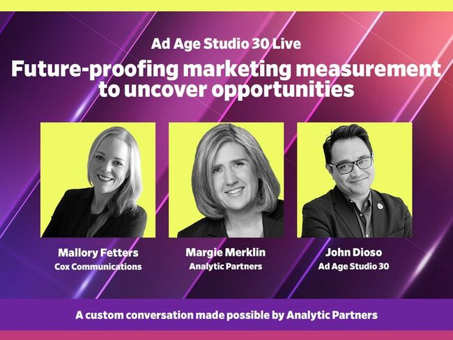 Watch live May 17 at 12:30 p.m. EDT: Future-proofing marketing measurement to uncover opportunities