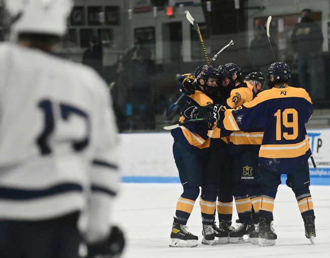 Boys hockey: Mahtomedi tops Hudson in border battle