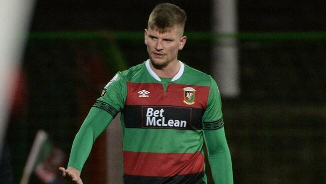 Glentoran in the clear as IFA probe finds no issues with eligibility of striker Stewart