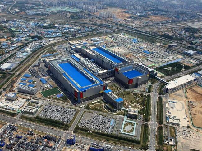 Samsung raises spending in logic chip businesses to $151 billion