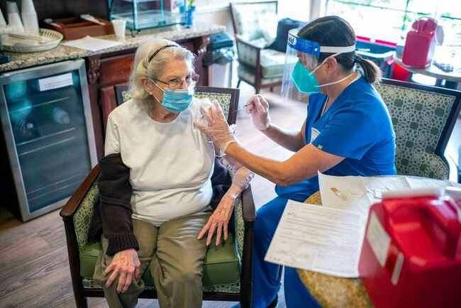 LA County coronavirus stats keep dropping; new vaccine strategy to be unveiled next week