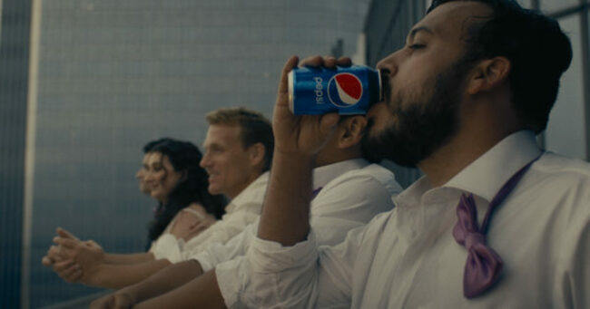 Pepsi's New Spot About Shared Germs Toes a Risky Line as We Emerge From Pandemic Isolation