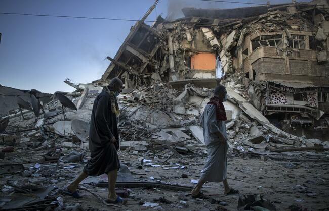 Interfaith efforts strained by Israeli-Palestinian violence