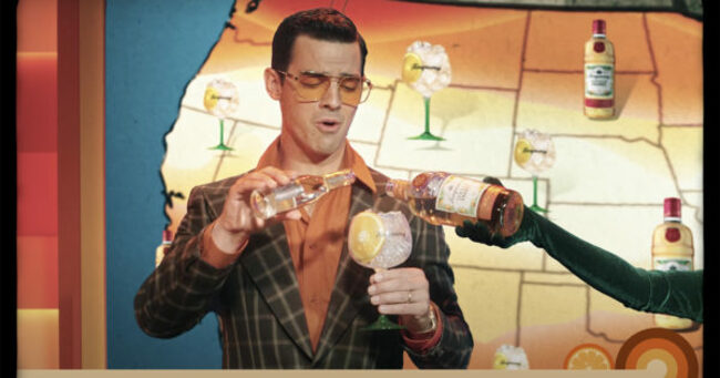 Joe Jonas Moonlights as TV Weatherman, Predicts 'Sunnier Times Ahead' With Tanqueray