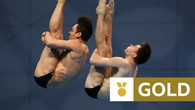 European Aquatics Championships: Great Britain's Tom Daley and Matthew Lee win 10m synchro gold