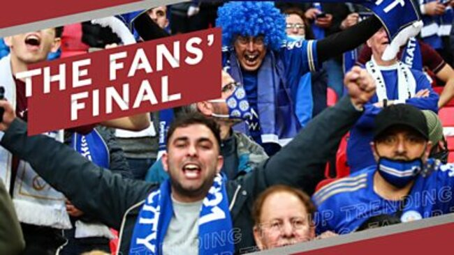 FA Cup final: Chelsea 0-1 Leicester: 'It's quite emotional' - How the fans' return lit up the FA Cup final