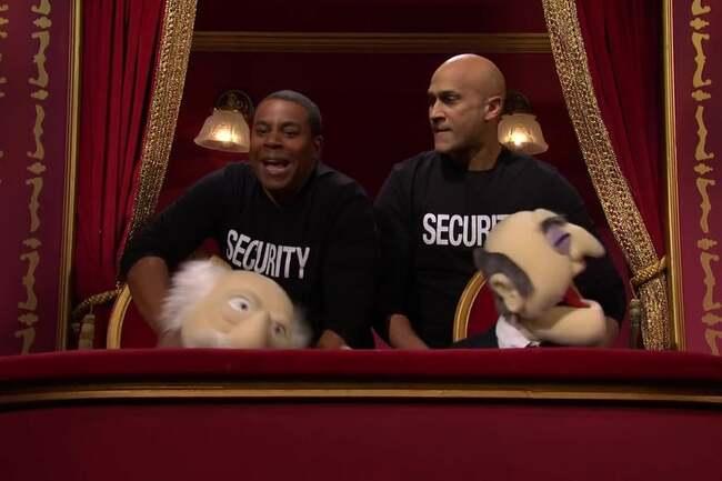 Wanna See Keegan-Michael Key and Kenan Thompson Beat Up Statler and Waldorf?