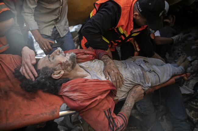 The Latest: Islamic leaders hold emergency meeting on Gaza