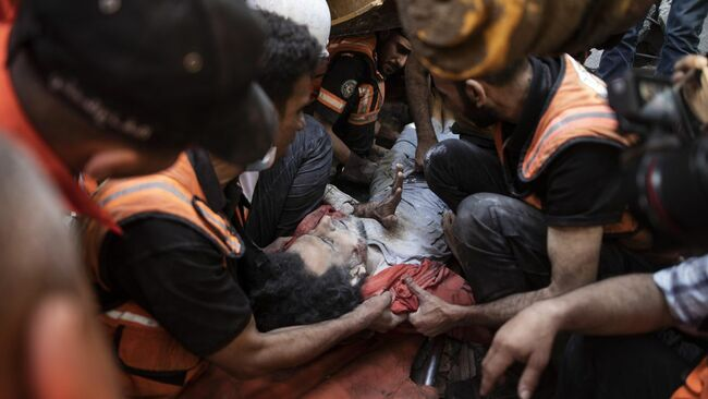 181 Dead In Gaza After Deadliest Night Of Israel-Hamas Conflict