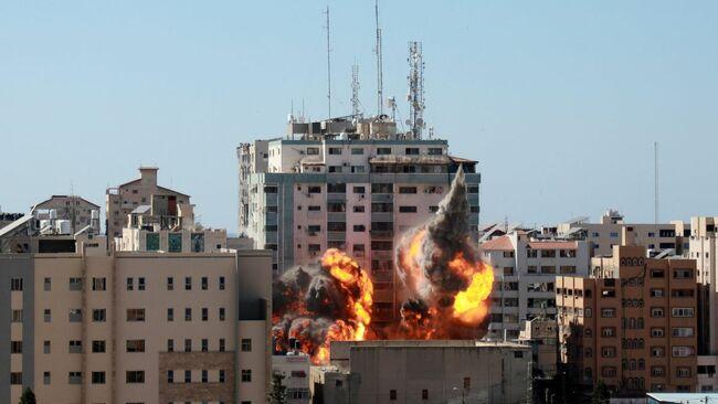 Netanyahu Defends Strike On AP Media Building In Gaza As Editor Calls For Full Investigation