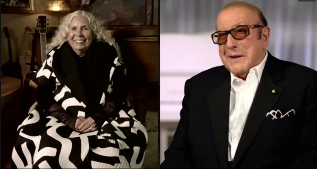Clive Davis Shares Joni Mitchell's First Public Interview in Six Years, Chats With DaBaby, Oprah Winfrey, H.E.R. and More