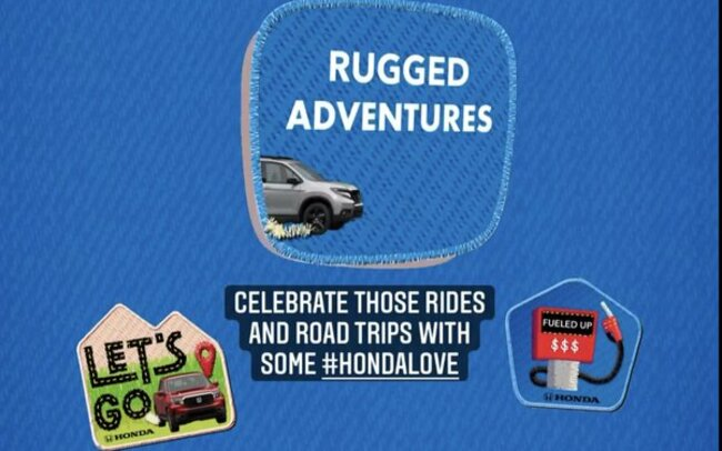 Honda Partners With Venmo For 'Road Trip' Stickers