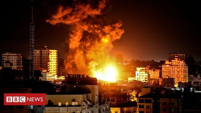 Israel Gaza conflict: Gazan officials say Sunday was 'deadliest day'