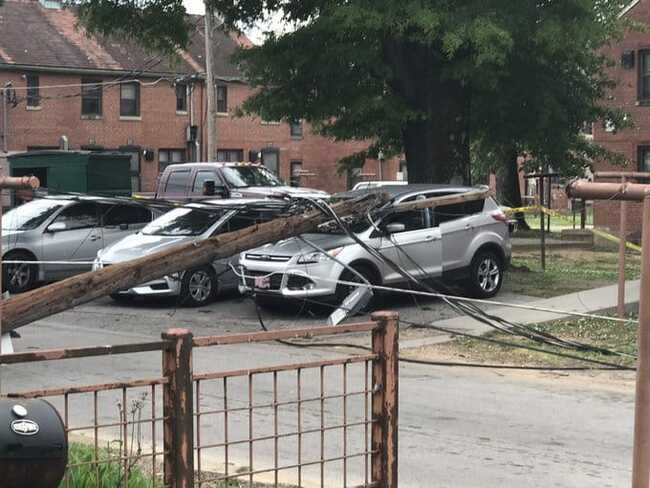 East Lake Courts near three pole disaster