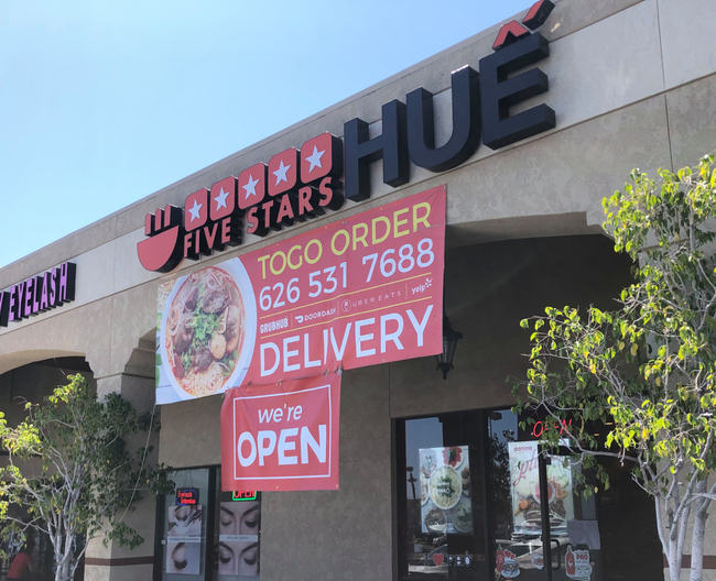 Vietnamese food at 5 Stars Hue lives up to the rating in its name