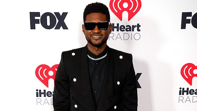 Usher Expecting Baby No. 4: GF Jenn Goicoechea Debuts Baby Bump At iHeartRadio Music Awards