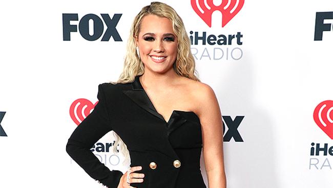 Gabby Barrett Looks Stunning In A Balmain Mini Dress At iHeartRadio Awards 4 Mos. After Giving Birth