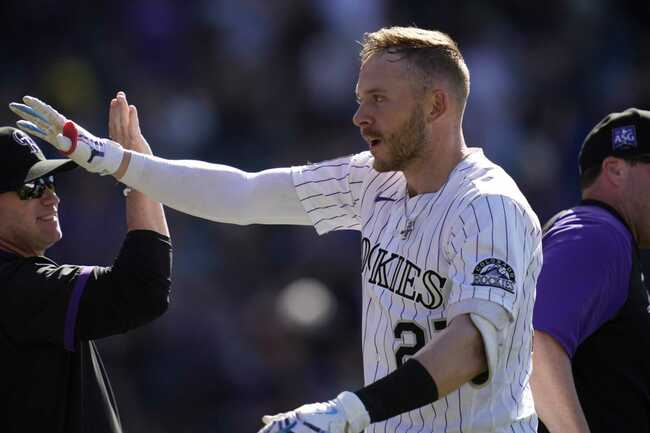 Rockies place Story on injured list with sore right elbow