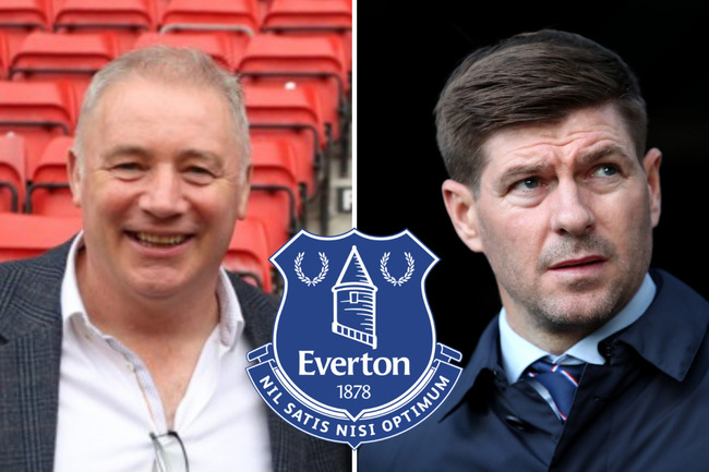 Steven Gerrard to Everton dismissed as Rangers icon Ally McCoist says there's more chance of HIM being next boss