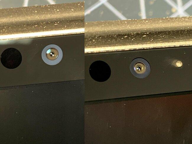 """Dust under front lens glass M1 12.9"""""""