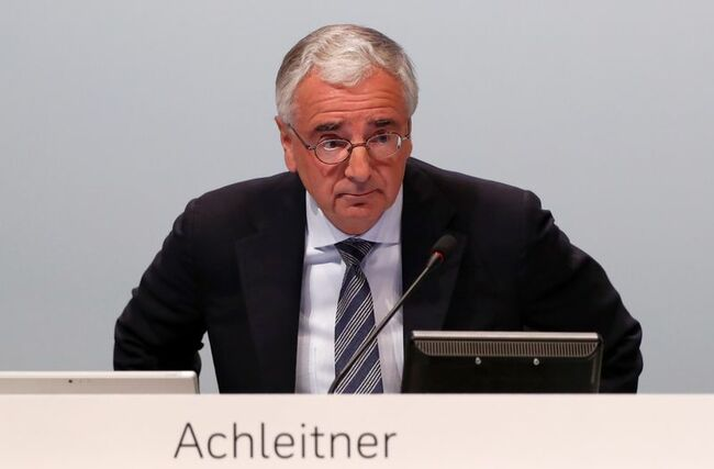 Exclusive: ECB tells Deutsche Bank to find new chairman fast – sources