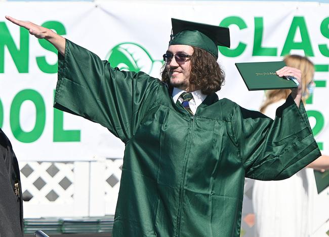 Sky's the limit for Dixon High graduates
