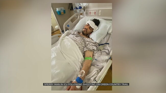 Sperry Man In ICU After Being Shot Several Times On Walking Trail