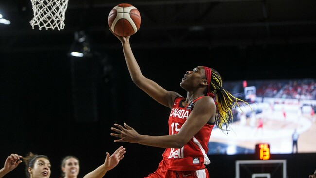 Canada building solid offensive foundation at FIBA Women's AmeriCup