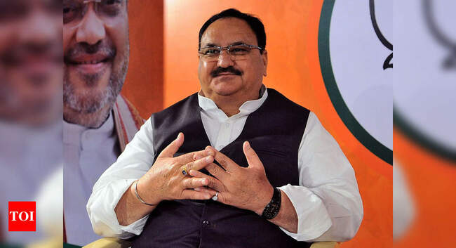 Conspiracy against vaccination drive, Covid-19 containment: Nadda asks BJP leaders to expose Opposition