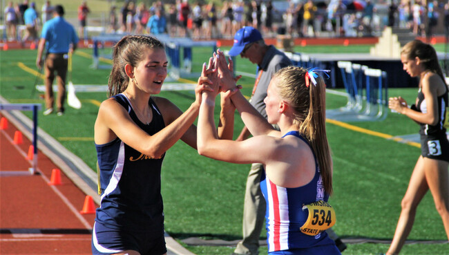 State girls track and field: After a brief traffic delay, Rosemount defends its team title