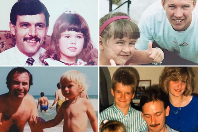 Celebs post pics with their dads for Father's Day – but can you tell who it is?