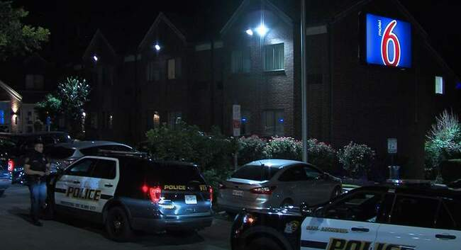 SAPD: Woman fatally shot in front of two children in motel room, man arrested