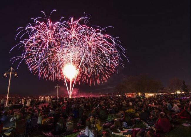 Fourth of July fireworks moved to August