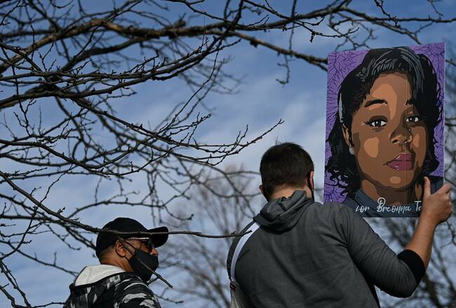 Simon & Schuster won't distribute book by officer involved in Breonna Taylor's death after facing backlash