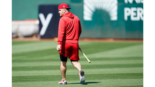 Angels still have no timeline for Mike Trout's return
