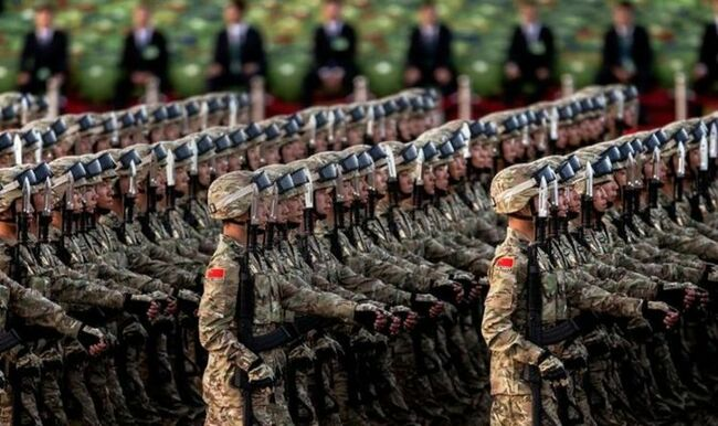 WW3 fears: Chinese state media urges Beijing to ramp up its defence amid Joe Biden threats