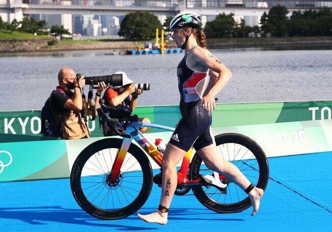 Olympics-Triathlon-Britain win mixed relay gold