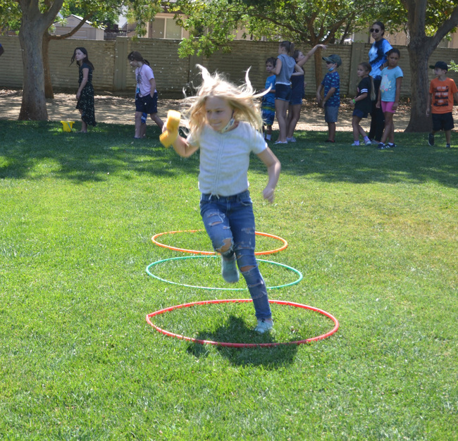 Camp Three Oaks concludes week of Olympic-themed fun