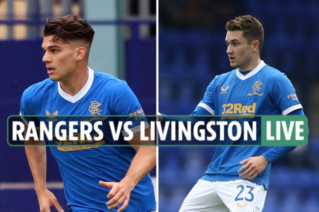 Rangers vs Livingston LIVE: TV channel, stream as Wright and Roofe put seal on win after Hagi strike on opening day