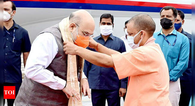 Amit Shah lauds Yogi Adityanath for robust law and order situation in Uttar Pradesh