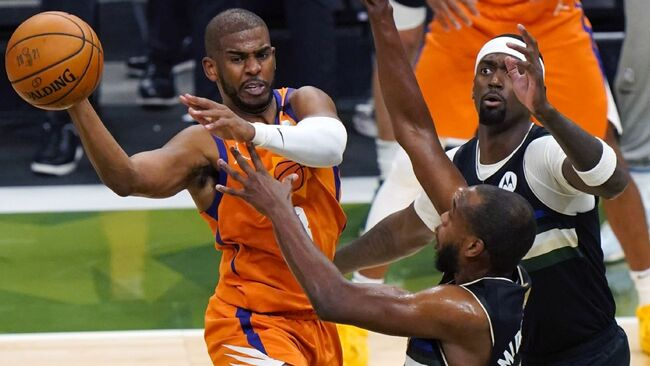Chris Paul agrees to stay with Phoenix Suns, securing four-year deal that could be worth up to $120 million, agents say