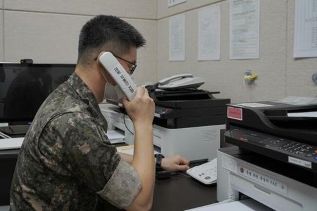 N. Korea answers S. Korea's calls via radio hotline